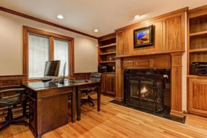 Columbus OH Home Office Staged To Sell