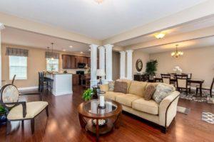 Greens At Northstar Sunbury OH Condo Living Room