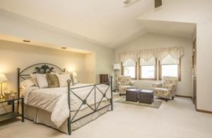 Columbus OH Staged Bedroom by Rita Boswell