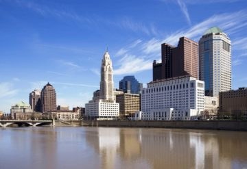 Downtown Columbus OH Riverfront