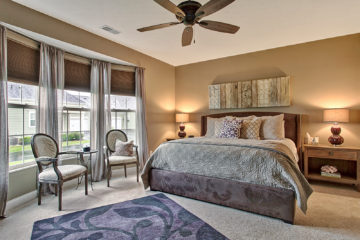 Westerville OH Staged Bedroom by Rita Boswell