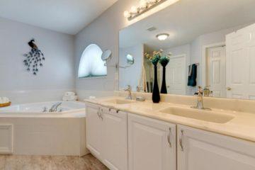 Westerville OH Staged Luxury Bath