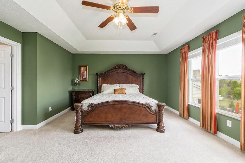 Dublin Ohio Home For Sale Master Bedroom