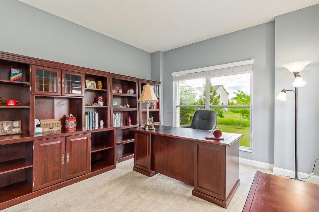 Dublin Ohio Home For Sale With Home Office