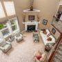 Lewis Center OH Home in Avonlea Living Room