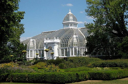 Franklin Park Conservatory building and grounds