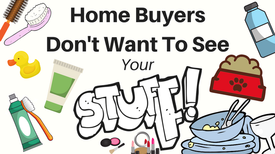 Picture of personal items home buyers don't like left out