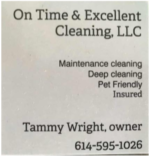 On Time & Excellent Cleaning LLC