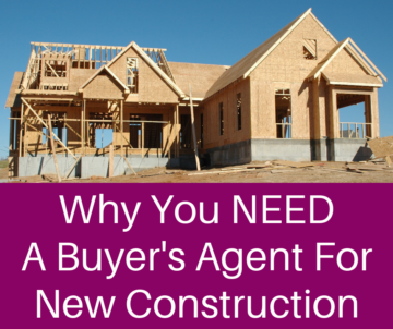 "home under construction and ""why you need a buyers agent for new construction"" in columbus ohio"