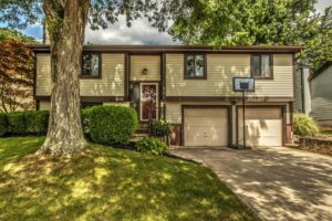 split level home in Columbus Ohio with brown trim sold by Rita Boswell