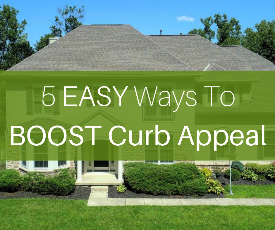 20 Cheap Ways To Improve Curb Appeal If You Re Selling: 5 Easy Ways To Boost Your Home's Curb Appeal