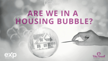 house in a bubble with person holding pin to pop the bubble